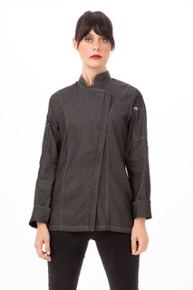 Womens Gramercy Denim Chef Coatby Chef Works