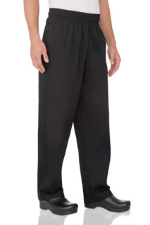 Essential Baggy Zip-Fly Chef Pants by Chef Works