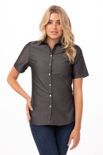 Womens Detroit Denim Shirtby Chef Works