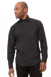 Shelby Zip Front Shirtby Chef Works
