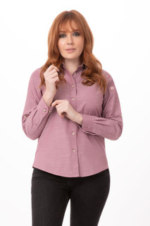 Womens Chambray Shirtby Chef Works