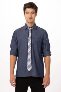 Plaid Urban Neck Tieby Chef Works