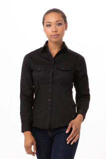 Womens Pilot Shirtby Chef Works