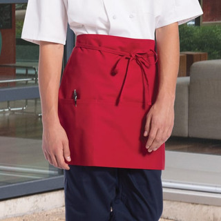 Knee Length Waist Apron  3 Pockets