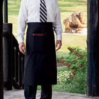Full Bistro Apron  1 Pocket