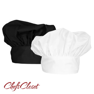 ChefsCloset Poplin Chef Hat