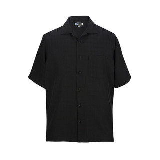 Jacquard Batiste Camp Shirt by Edwards