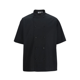 Double Breasted Short Sleeve Server Shirt by Edwards