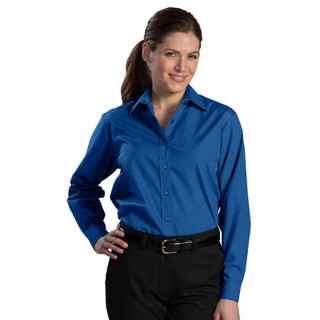 Women's Long Sleeve Value Broadcloth Shirt by Edwards