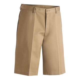 Men's Flat Front Casual Chino Shorts