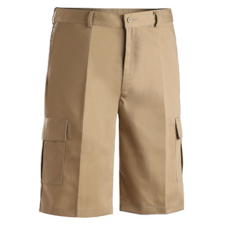 Men's Flat Front Chino Cargo Shorts