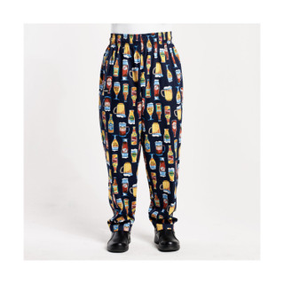 Unisex Baggy Chef Pants by ChefWear