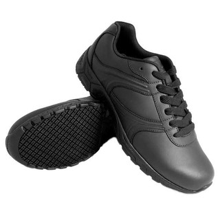 Men's Slip-Resistant Leather Work Shoes