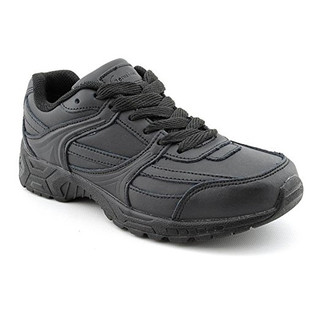 Women's Slip-Resistant Leather Work Shoes