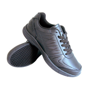 Men's Slip-Resistant Athletic Work Shoes