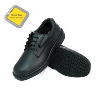 Women's Slip-Resistant Steel Toe EH Work Oxfords