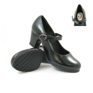 Women's Slip-Resistant Leather Mary Janes