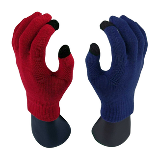 Pair of Warm Knitted Winter Unisex Touchscreen Gloves
