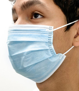 50PACK Disposable Pleated Surgical Mask