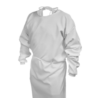 Polyester Isolation Gown with Knit Cuffs