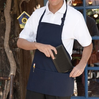 Server Bib Apron  3 Pockets