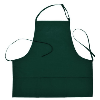 Clearance Server Bib Apron  3 Pockets