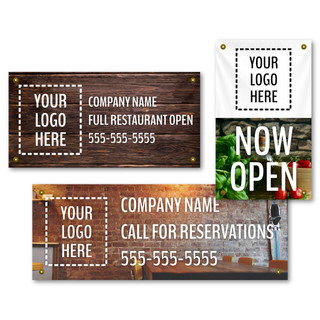 Back In Business FULL-Custom Banners