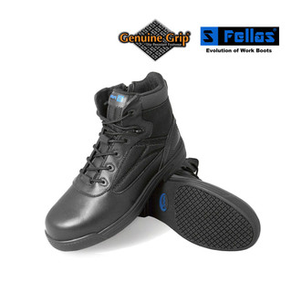 "Men's 6"" Side Zip Comp Toe Boots"