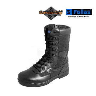 "Women's 8"" Side Zip Comp Toe Boots"