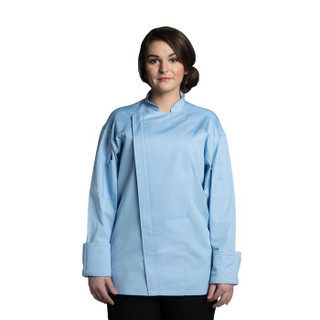 Sky Blue Endeavor Pro Vent Chef Coat by Uncommon Threads