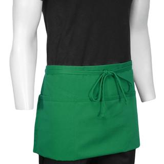 ChefsCloset Kelly Green St Patrick's 3-Pocket Waist Apron (Seasonal Clearance)