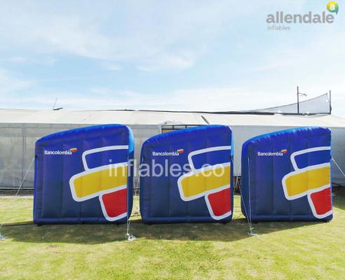 Medellín adopta la moda de los inflables