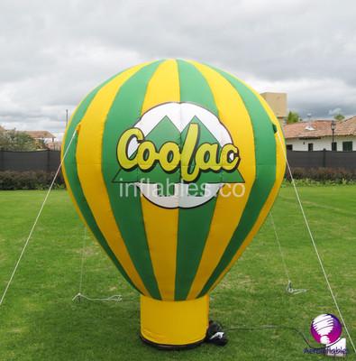Globos inflables hacen volar la imaginación de los clientes