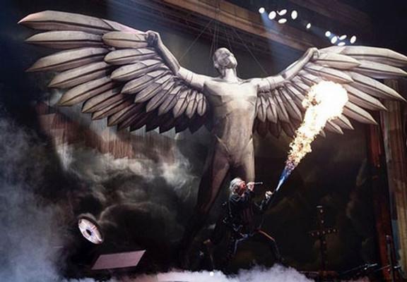 Los inflables que Iron Maiden usa en sus shows