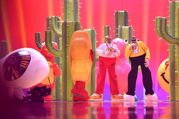 Inflables colombianos presentes en los MTV VMAs 2019