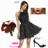 cutest little black dress we see this season in Alyce 3860 at prom-avenue