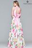 Faviana 10047 Two Piece Printed Dress