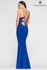Faviana S10418  Long Dress with V Neckline