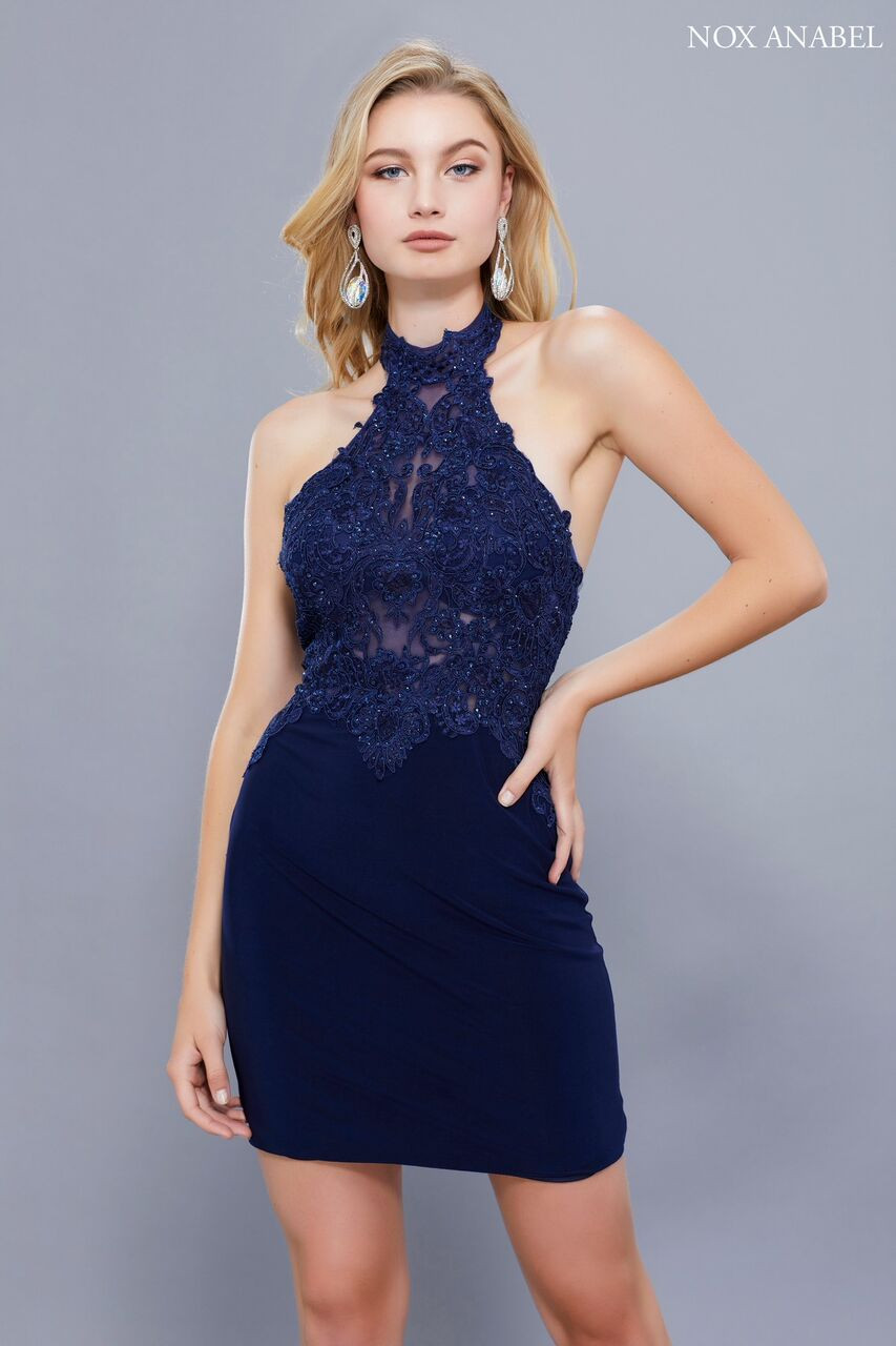 3c8d55cb5a3 Sophisticated and curve hugging cocktail or party dress that stands out in  style NX 6309 with