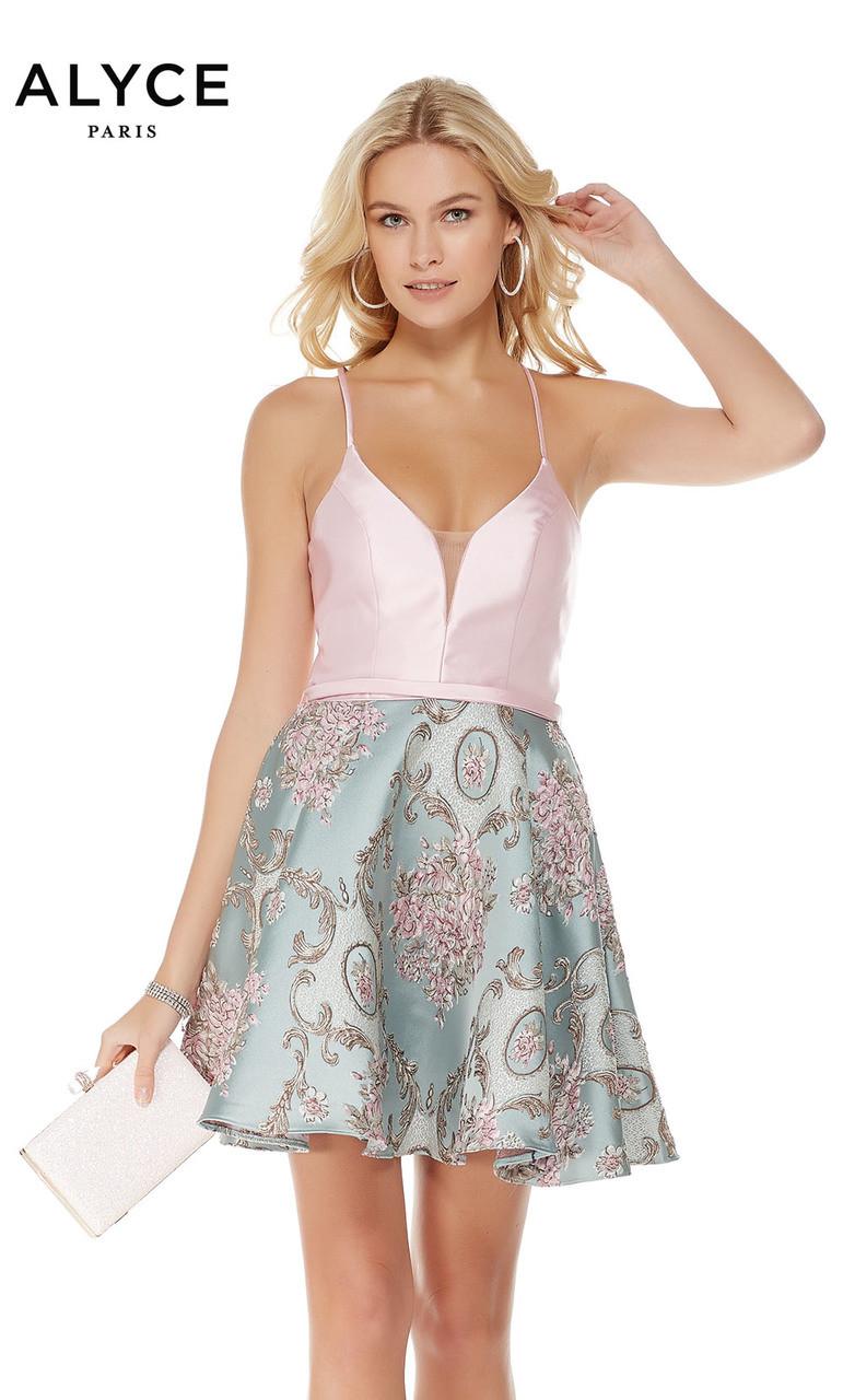 ad3e9bb1fa2 Alyce 3777 Homecoming Dress