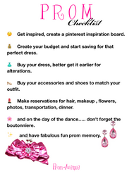 The Prom Checklist