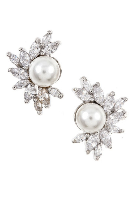 Pearl Accent Earring