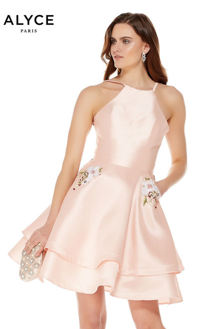 Two Piece Alyce Paris 4016, french pink