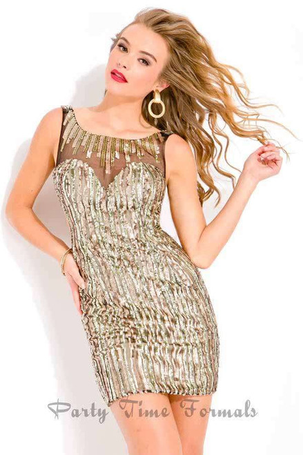 Party Time 6337 Homecoming Dress