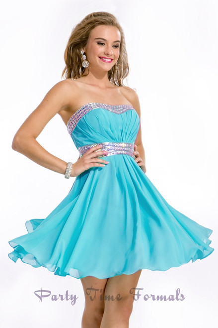 Party Time 6331 Homecoming Dress