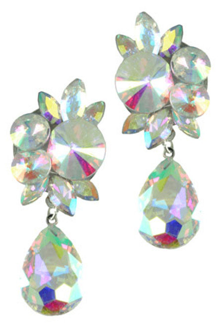 Sassy South Teardrop Earring Crystal