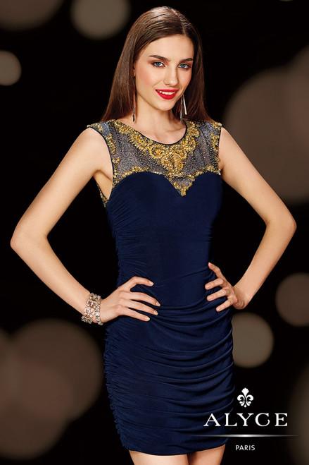 Alyce 4383 Beaded Party Dress