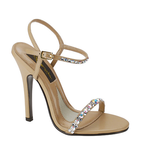 Super hot shoe from Jonathan Kayne that is a must have in your closet for your next special occassion featuring a heel height of 3 3/4 and swarovski crystals - shop prom-avenue