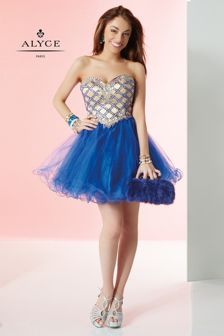 b5934de90afc1 Alyce Paris 1051 Private Collection Homecoming Dress