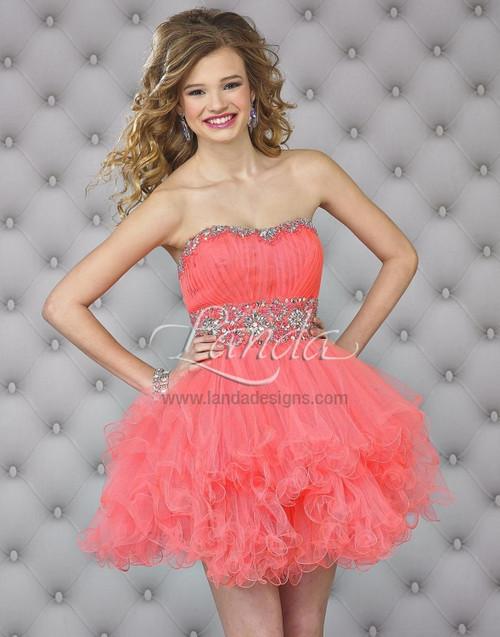 Landa Splash E 419 cocktail dress